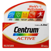 Active Multivitamin/Multimineral Supplement 30 Tablets