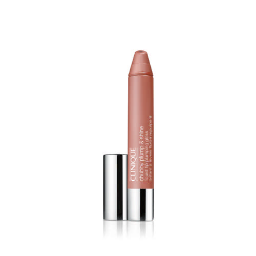 Chubby Plump & Shine Liquid Lip Plumping Gloss Normous Nude 3.9g