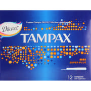Tampons With Applicator Super Plus 12 Tampons