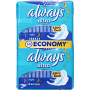 Ultra Night 14 Sanitary Pads