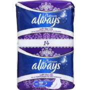 Platinum Sanitary Pads Ultra Night 14 Pads