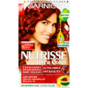 Nutrisse Ultra Color Nourishing Hair Colour 6.60 Fiery Red 1 Application
