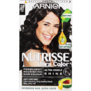 Nutrisse Ultra Color Nourishing Hair Colour 2.0 Intense Black 1 Application