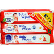 Triple pack Wipes 82 wipes