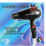 Professional Hairdryer Turbo 3400 XP