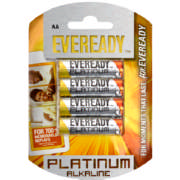Platinum AA Batteries 4 Pack