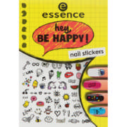 Nail Art Stickers Hey Be Happy