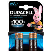 Ultra Power AAA Batteries 4-Pack