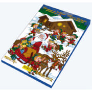 Advent Calender Milk Chocolate 75g