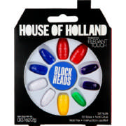 House of Holland Artificial Nails Block Heads 24 Nails