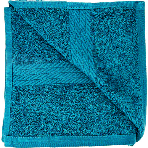 Cotton Bath Towel Teal Blue