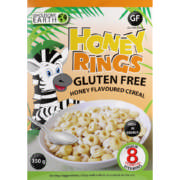 Gluten Free Honey Rings Cereal 350g