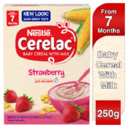 Cerelac Baby Cereal With Milk Strawberry 250g
