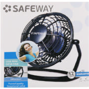 10cm Usb Desk Fan Black