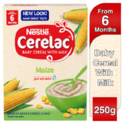 Cerelac Baby Cereal With Milk Maize 250g