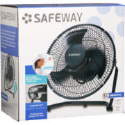23cm High Velocity Metal Floor Fan