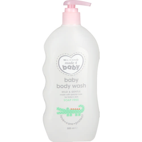 Made 4 Baby Body Wash 500ml