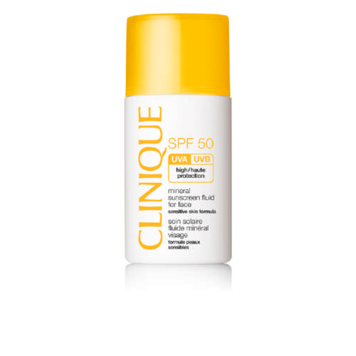 SPF 50 Mineral Sunscreen Fluid for Face 30ml