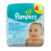 Baby Fresh Clean Wipes 4x 64 Wipes