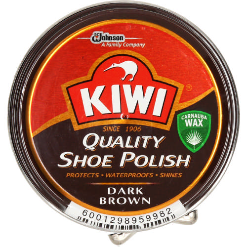 Shoe Polish Dark Brown 50ml