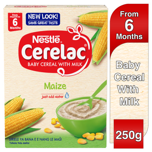 Cerelac Baby Cereal With Milk Maize From 6 Months 250g
