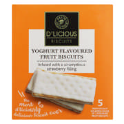 Yoghurt Biscuit Strawberry 182g