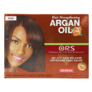 Hair Strengthening Argan Oil No-Lye Hair Relaxer 1 Application