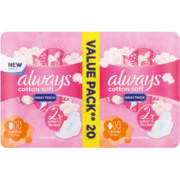 Maxi Soft Sanitary Pads Normal 20