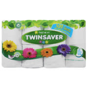 1-Ply Toilet Paper White 8 Rolls