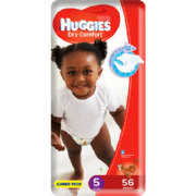 Dry Comfort Disposable Nappies Size 5 56 Nappies