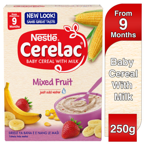 Cerelac Baby Cereal With Milk Mixed Fruit From 9 Months 250g