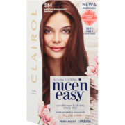Nice'n Easy Natural Looking Permanent Hair Colour Mahogany Brown 5M
