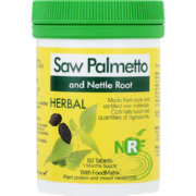 Herbal Saw Palmetto Tablets 60s