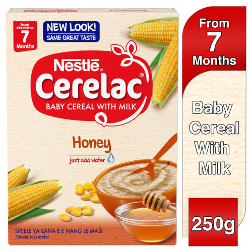 Cerelac Baby Cereal With Milk Honey From 7 Months 250g
