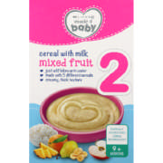 Made 4 Baby Stage 2 Baby Cereal Mix Fruit 250g
