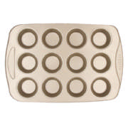 Muffin Pan Gold 12 Cup
