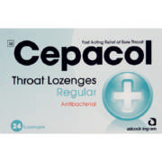 Throat Lozenges Regular 24 Lozenges