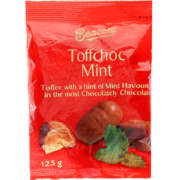 Toffchoc Mint Chocolates 125g