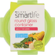 Glass Container Round 210ml