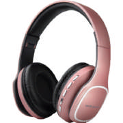 Phonic Series Bluetooth Wireless On Ear Headphones Pink