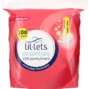 Pantyliners Scented 100 Pantyliners