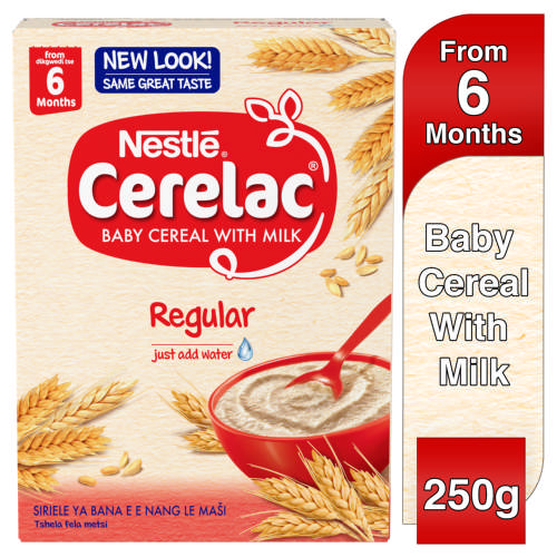Cerelac Baby Cereal With Milk Regular From 6 Months 250g