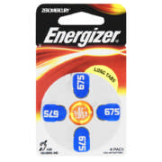 ZeroMercury Zinc Air Batteries 4 Pack