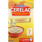 Cerelac Baby Cereal With Milk Honey 500g