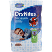 Boys Pyjama Pants 4-7 Years 9 Pack