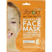 Hydrating Face Mask Clarifying & Moisturising 1 Application