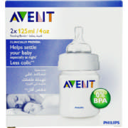 Classic Feeding Bottle 2x 125ml