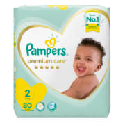 Premium Care Disposable Nappies Size 2 80 Nappies