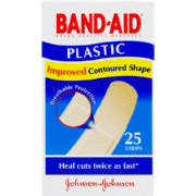 Brand Adhesive Bandages Plastic 25 Strips