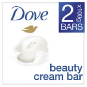 Beauty Bar White Two Pack 2x100g
